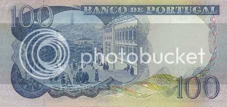 Verso da nota de 100$00, chapa 7. * Image hosted by Photobucket.com