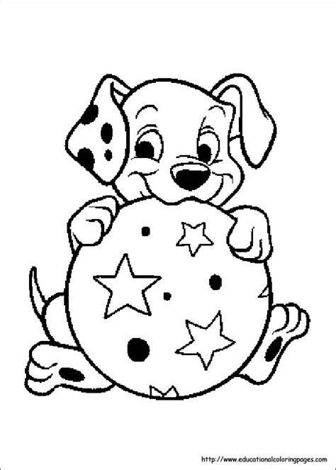 dalmation coloring pages
