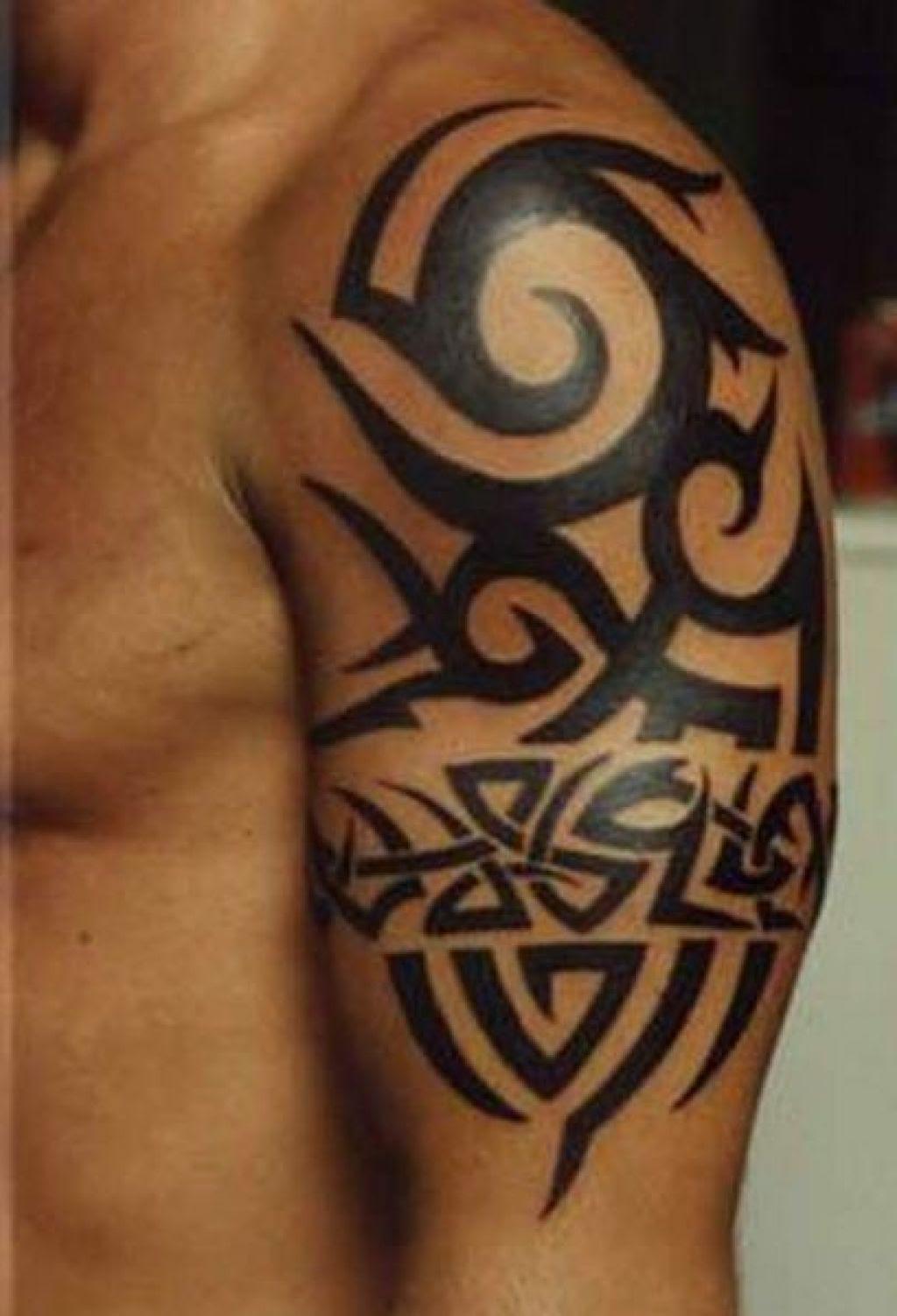 Tribal Arm Tattoos Design Ideas - Yo Tattoo