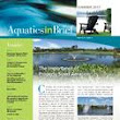 Aquatics In Brief: Lake and Pond Management Quarterly Newsletter