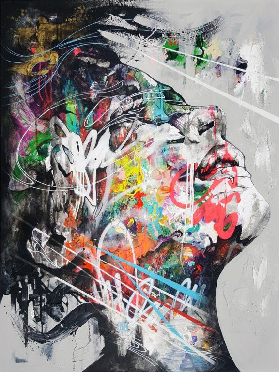 Return To Energiser By Danny O'Connor, Painting