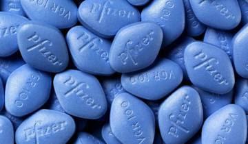 Comprimidos de Viagra.