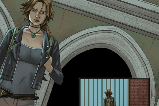 Six Page Preview of Tomb Raider: Survivor's Crusade #3 comic