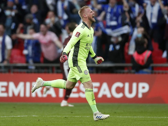 Kasper Schmeichel hails Leicester history makers