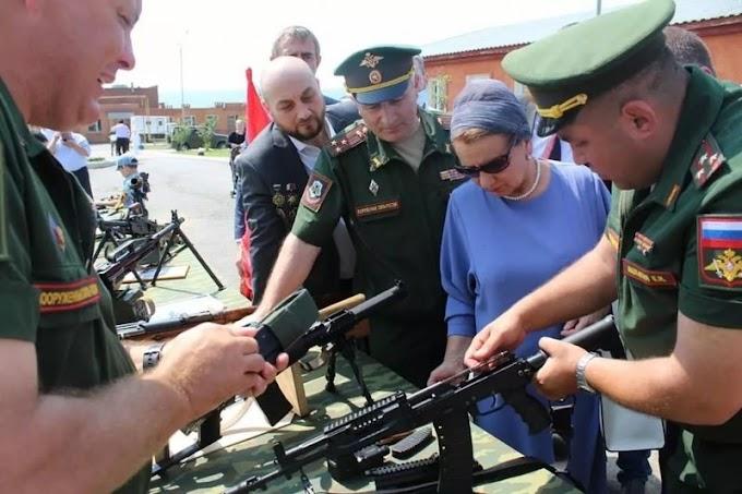 ВТроицком гарнизоне Ингушетии проходит военно-технический форум «Армия-2021»
