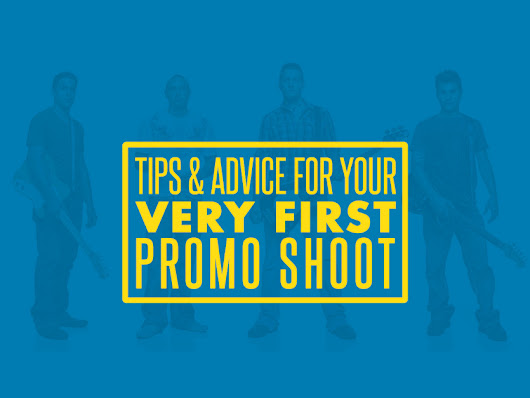 Tips & Advice for Your Very First Promo Shoot | Band Photo School