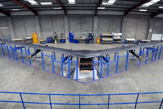 Facebook Seeks Partner Countries for Drone Trials