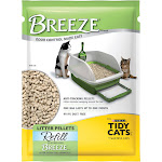 Purina Tidy Cats Breeze Pellets Refill Litter for Multiple Cats, 3.5 lbs.