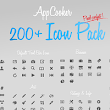 Icons ~ AppCooker Icon Pack by Hot Apps Factory ~ Creative Market