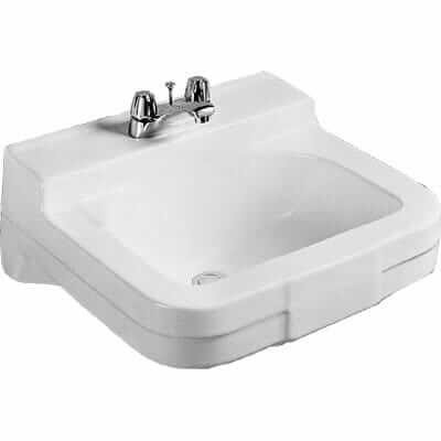 Crane wall-mount sinks - great for small, mid-century bathrooms ...
