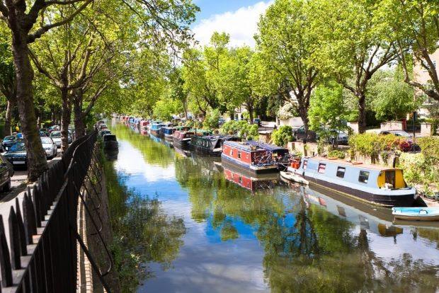 Regent's Canal, Little Venice, London, UK