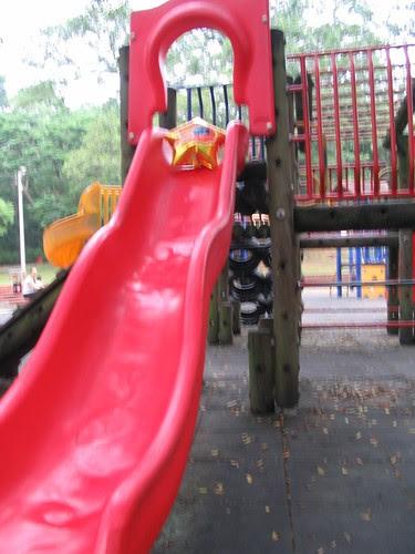 小溜滑梯?不夠看啦。
