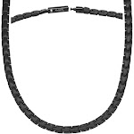 Powerful Black Titanium Magnetic Therapy Necklace