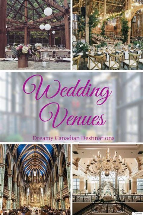 24 Stunning Canadian Wedding Venues