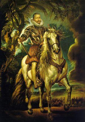 Equestrian Portrait of the Duke of Lerma, 1603...