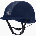Charles Owen JR8 Sparkly Helmet - NAVY 3-8