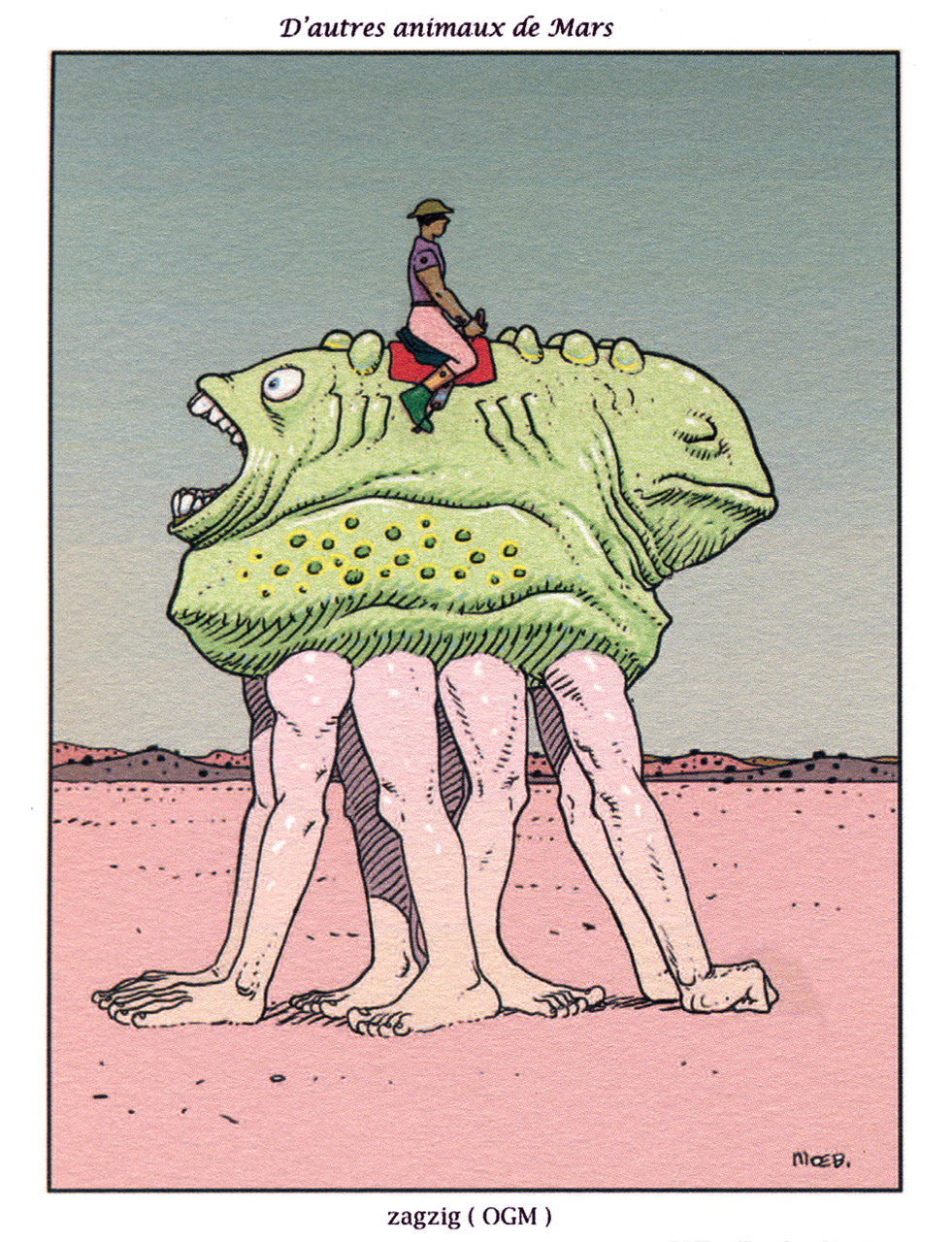 Moebius - Martian 1