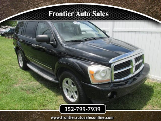 Used 2006 Dodge Durango Limited 2WD for Sale in Brooksville FL 34613 Frontier Auto Sales