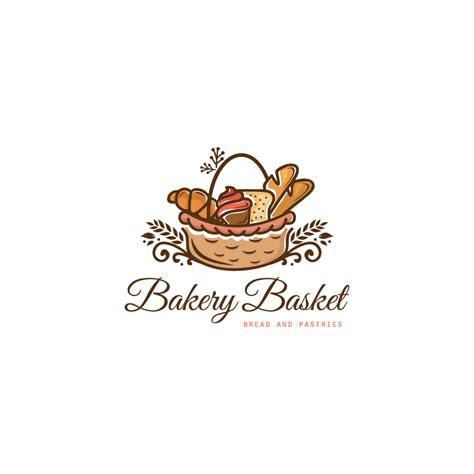 sale bakery basket logo design logo cowboy