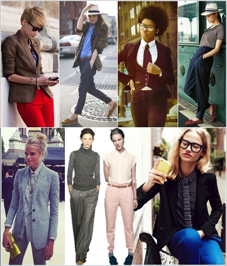 Fall Trends For Moms: Menswear For Women