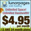 Lunarpages Fall Special Hosting