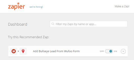 Bullseye Now Supports Zapier Integration! - www.bullseyelocations.com