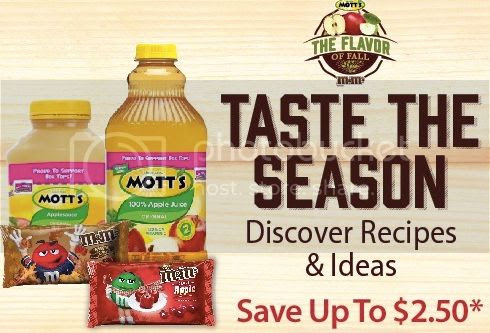 Flavors of Fall: Mott's and M&M's® Coupon! #FlavorofFall #CollectiveBias