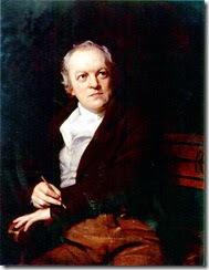 William Blake in un ritratto di Thomas Phillips