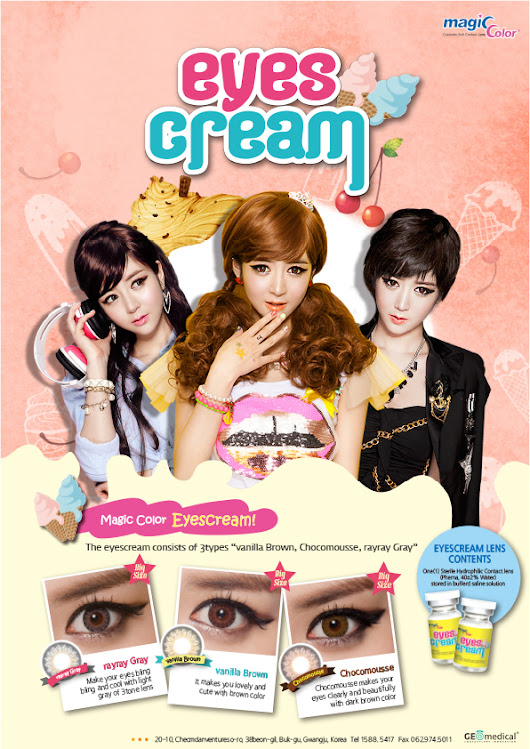 Product Review : Softlens Geo Eyescream in Ray Ray Gray