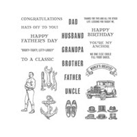 Guy Greetings Photopolymer Stamp Set by Stampin' Up!