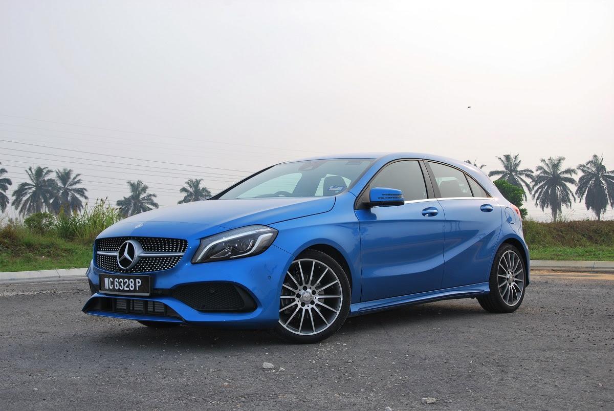 Test Drive Review: Mercedes-Benz A200 AMG Line - Autoworld.com.my