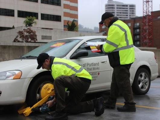 Portland to Start Booting Traffic Scofflaws