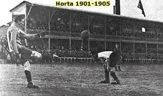 Carretera d'Horta: Η έδρα της ομάδας από το 1901 έως το 1905