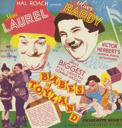 Laurel Hardy Babes Toyland March Wooden Soldiers