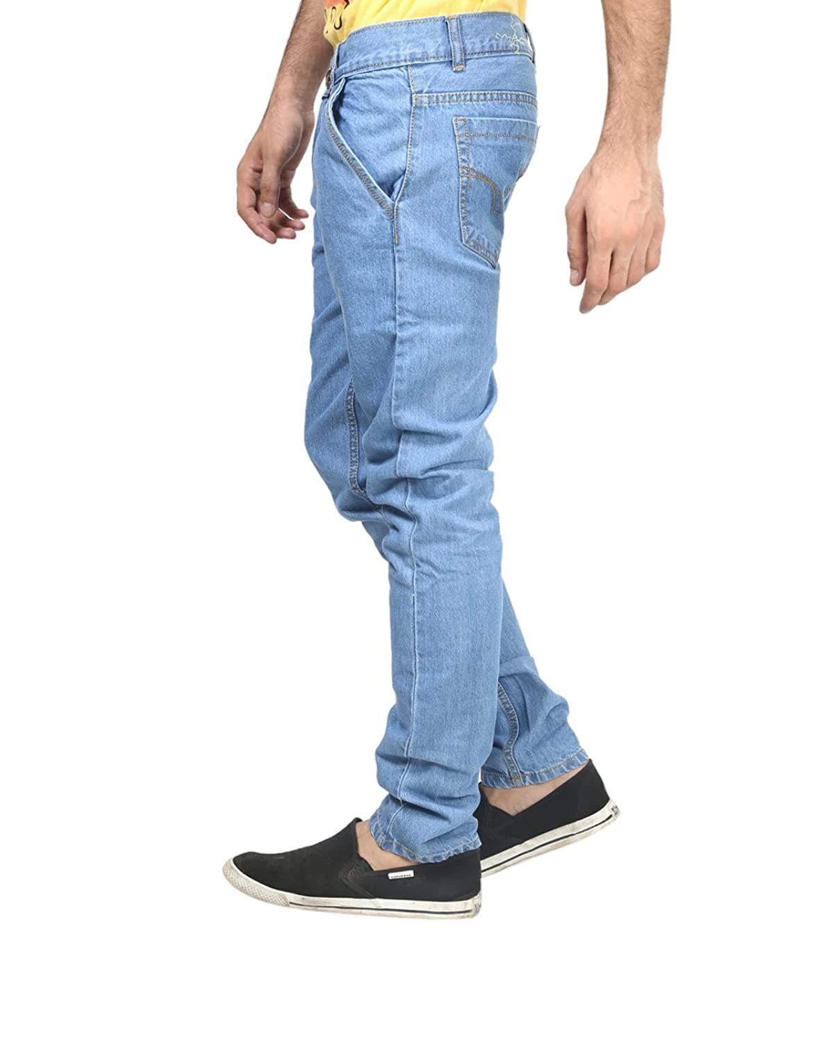 Deals on Trendy Trotters Men's Regular Fit Jeans