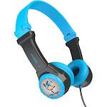 JLab JBuddies Folding Kids Wired Headphones - Blue (JK2-BLURTL)
