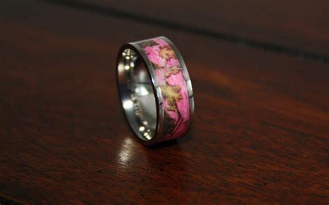main PINK camo wood surface   Camo Wedding Ring, Camo