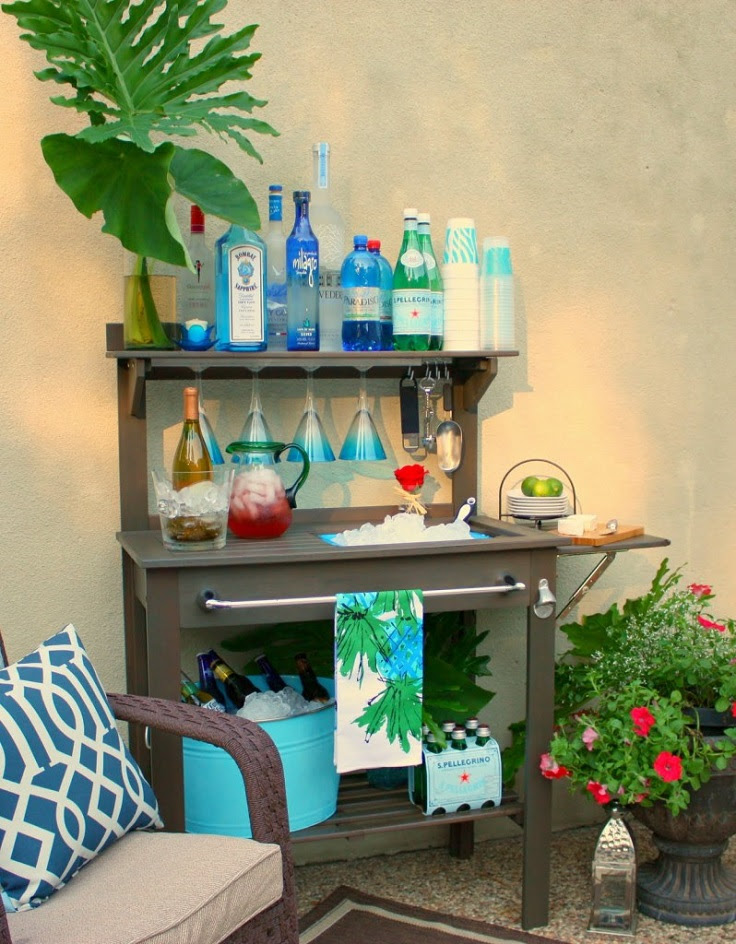 Outdoor-Side-Table-Turned-Buffet