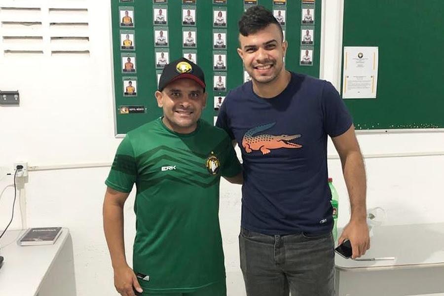 Renatinho Potiguar, hoje treinador do Globo, era companheiro de Dasaev no acesso em 2017