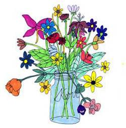 Flower Arrangement By Garrett Clipart Panda Free Clipart Images