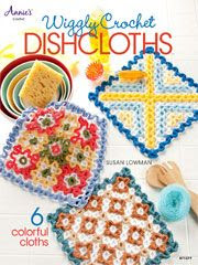 Wiggly Crochet Dishcloths