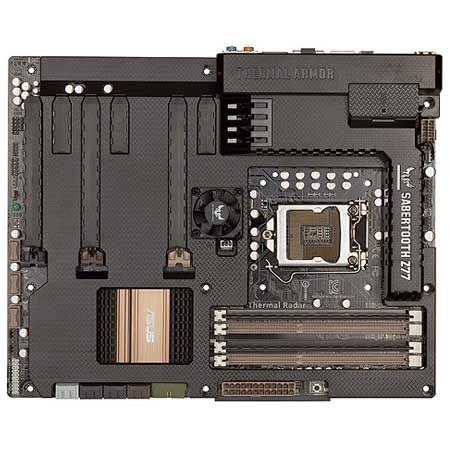 ASUS SABERTOOTH Z77 (Intel Z77 Chipset) (Features Thermal Armor and Thermal Radar)