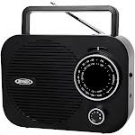Jensen - AM/FM Radio - Black