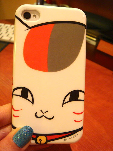 Nyanko sensei iPhone4 case.
