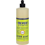 Mrs. Meyer's Clean Day Liquid Dish Soap, Lemon - 16 fl oz bottle
