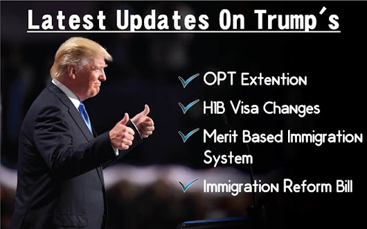 Latest Updates on Trump OPT and H1B Visa Extension Changes