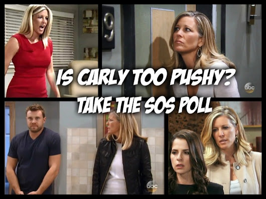 General Hospital POLL: Is Carly Getting Too Pushy? Vote! - Soap Opera Spy