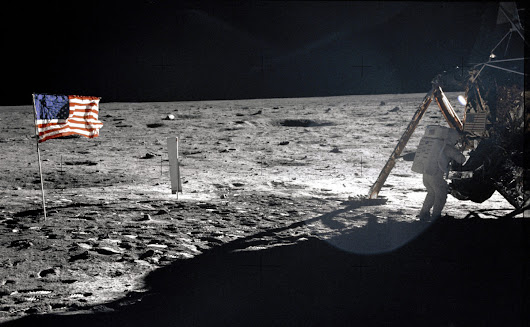WATCH: 48th Anniversary Of The Apollo 11 Moon Landing | Houston Public Media