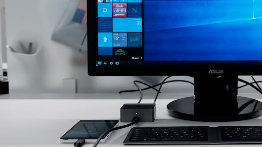 Microsoft is about to turn a phone into a real PC