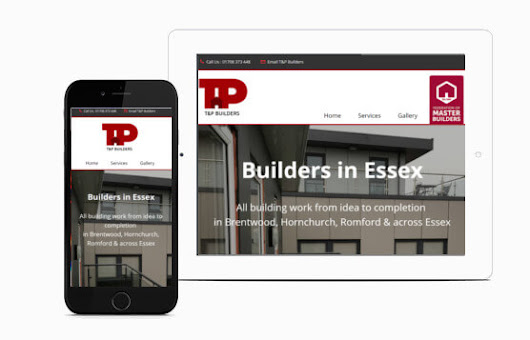 JKE Web Design | T & P Builders